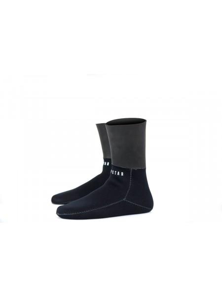 Paire de chaussettes 5,5mm grand froid avec étanchéité